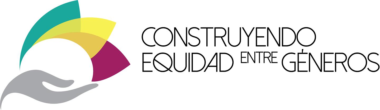 Logotipo Programa Construyendo equidad entre géneros